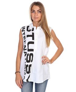 Stussy | Поло Женское Туника Shout Out Tunic White