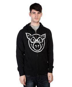 Pig | Толстовка Basic Black/White