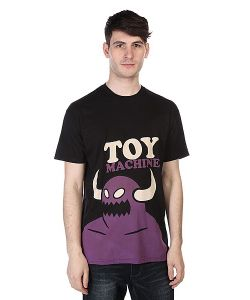 Toy Machine | Футболка Monster Pop Black/Purple