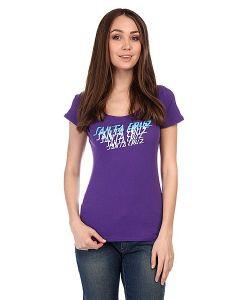 Santa Cruz | Майка Женская Sunset Strip Scoop Neck Purple Rush