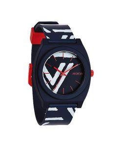 Nixon   Часы Time Teller P Navy/Coral