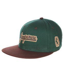 Запорожец | Бейсболка Zap Logo Green/Brown