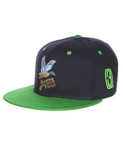 Запорожец | Бейсболка Дичь Logo Navy/Green