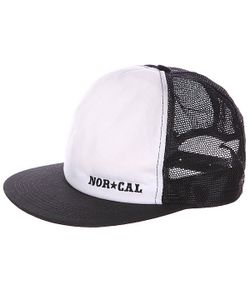 Nor Cal | Бейсболка Stencil Diy Adjust. Black/White