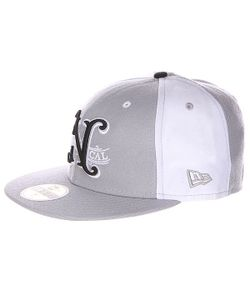 Nor Cal | Бейсболка New Era Louisville 59 Fifty Grey/White