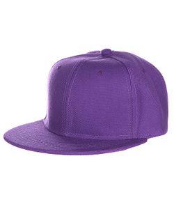Truespin | Бейсболка Blank Snapback Purple O/S
