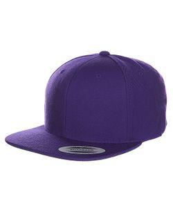 Yupoong | Бейсболка Classic Snapback Purple