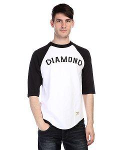 Diamond | Лонгслив Dugout 98 Raglan White/Black