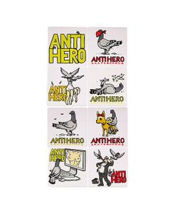Antihero | Наклейки Pigeons Revenge Multicolor