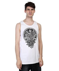 Santa Cruz | Майка Eagle Badge Tank White
