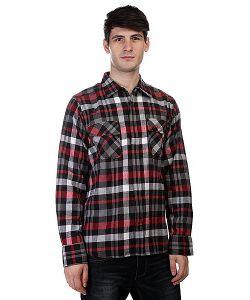 Innes | Рубашка Suspect Black/Red