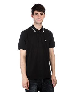 Huf | Поло Carnaby Classic Polo Black
