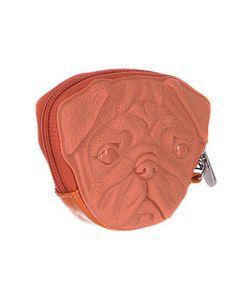 ADAMO   Сумка Женская 3d Pug Dog Light Brown