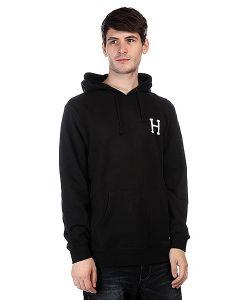 Huf | Кенгуру Classic H Pullover Hoodie Black