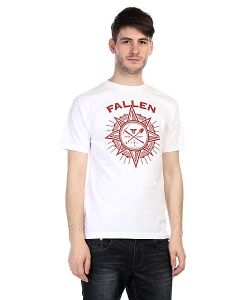 Fallen | Футболка Rambler Shirt White/Red