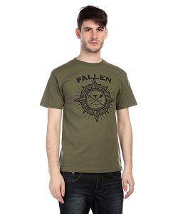 Fallen   Футболка Rambler Shirt Army/Black
