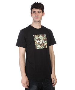 Huf | Футболка Duck Camo Box Logo Tee Black