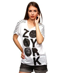 Zoo York | Футболка Женская Information White