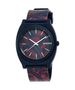 Nixon | Часы Time Teller P Navy/Paisley