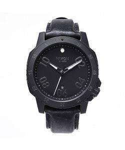 Nixon | Часы Ranger Leather All Black