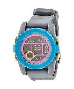 Nixon | Часы Unit 40 Charcoal/Navy/Purple