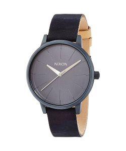 Nixon | Часы Женские Kensington Leather All Indigo/Natural