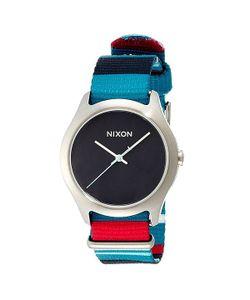 Nixon | Часы Женские Mod Navy/Seafoam/Pop Stripe