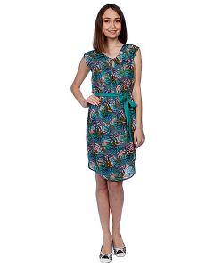 Stussy | Платье Женское Palm Keyhole Dress Aqua