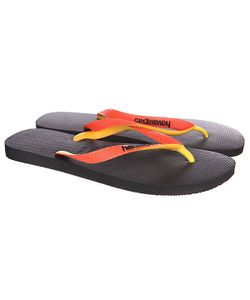 Havaianas | Вьетнамки Eles Top Mix Yellow/Black/Orange
