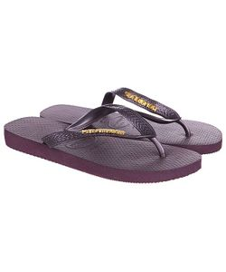 Havaianas | Вьетнамки Eles Top Logo Metallic Light Golden Purple