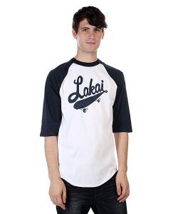Lakai | Лонгслив Ballpark Baseball White/Navy