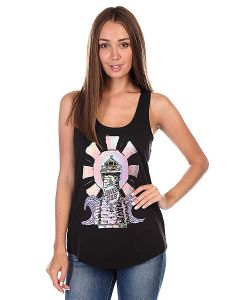 Santa Cruz | Майка Женская Painted Radiant Terry Racer Back Tank Black