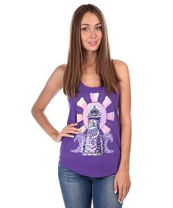 Santa Cruz | Майка Женская Painted Radiant Terry Racer Back Tank Purple Rush