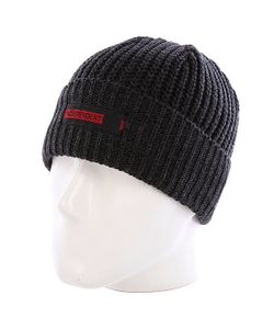 Independent | Шапка Redline Beanie Heather Black