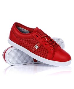 Dcshoes   Кеды Кроссовки Dc Dress Sneaker Shoe Red