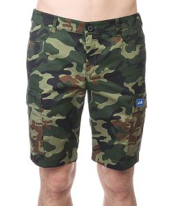Skills   Шорты Cargo Shorts 2 Green Camo