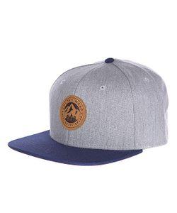 Clwr | Бейсболка Badge Cap Grey Melange