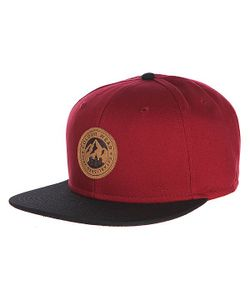 Clwr | Бейсболка Badge Cap Burgundy