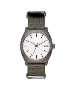 Nixon | Кварцевые Часы Time Teller Gunmetal/Surplus