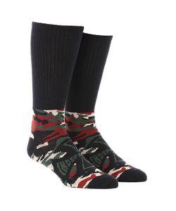 Independent | Носки Высокие Concealed Sock Camo/