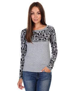 Zoo York | Джемпер Женский Flash Dance Sweater Med Heather Grey