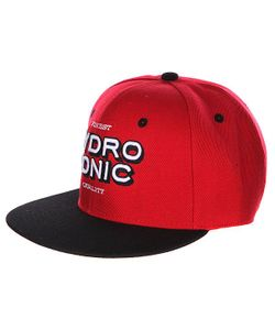 Hydroponic | Бейсболка Astro Red / Black