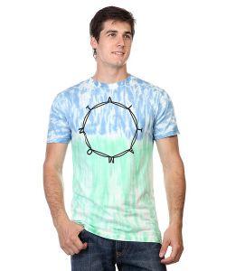 Altamont | Футболка Octo Ring Tie Dye Tee Turquoise