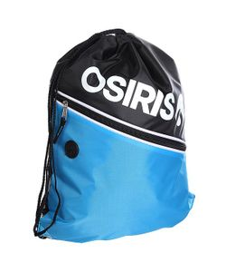Osiris | Мешок Drawstring Gym Bag Black/Cyan