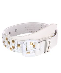 Globe | Ремень Stud Belt White/Gold