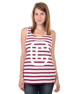 Clwr | Майка Женская Banger Tank Top Burgundy Stripe
