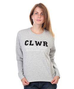Clwr   Толстовка Женская Swell Crew Grey Melange
