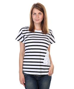 Clwr | Футболка Женская Holk Top Black Stripe