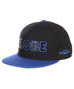 Globe | Бейсболка Sinclair Flat Brim Black