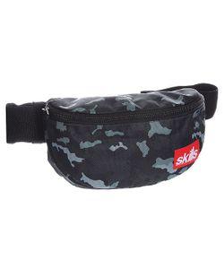 Skills   Сумка Поясная Small Patch Bag Grey/Camo 3